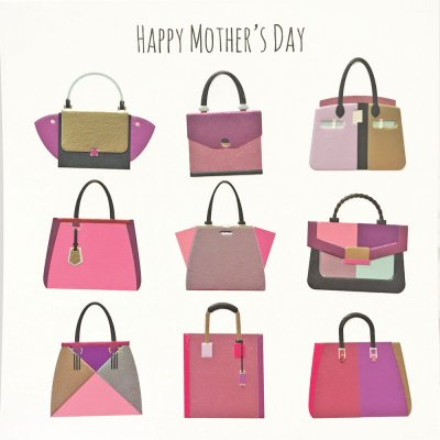 Handbags Mothers Day Card