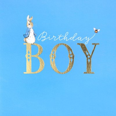 Peter Rabbit Birthday Card