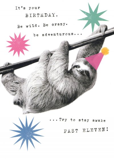 Be Adventurous Birthday Card