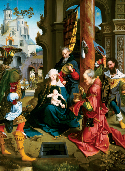 The Adoration of the Magi Personalised Christmas Card