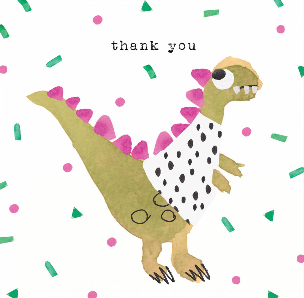 Dinosaur Thank You Pack (5)