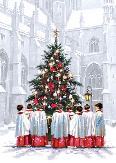 Choirboys Personalised Christmas Card