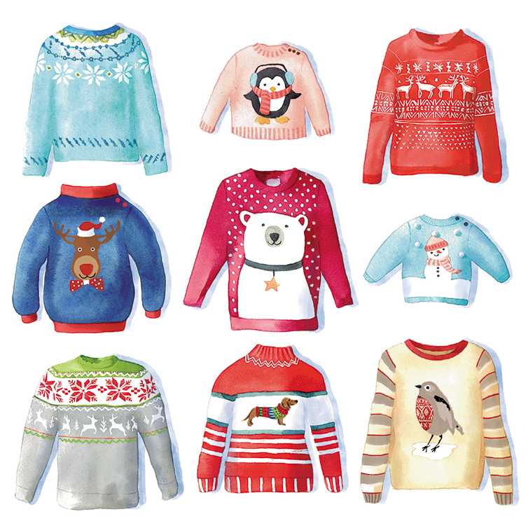 Festive Knits MSF Christmas Pack (10)