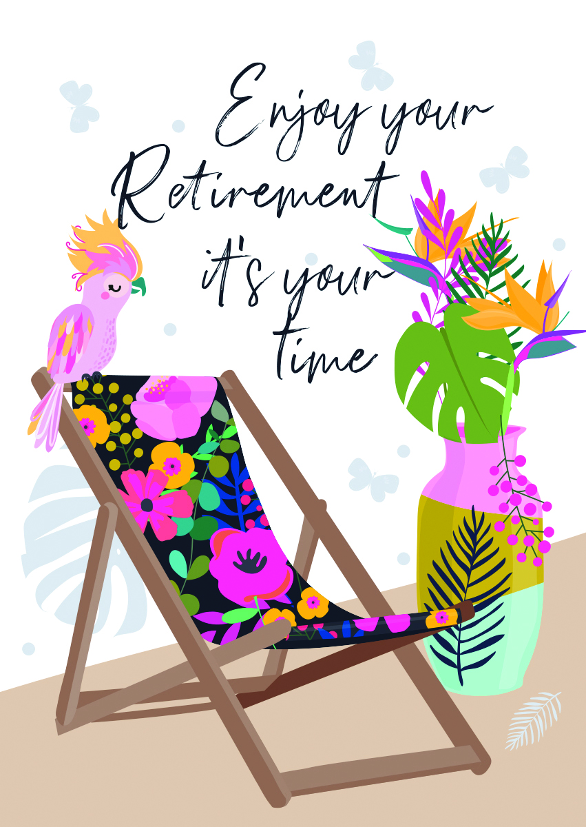 It's Your Time Retirement Card