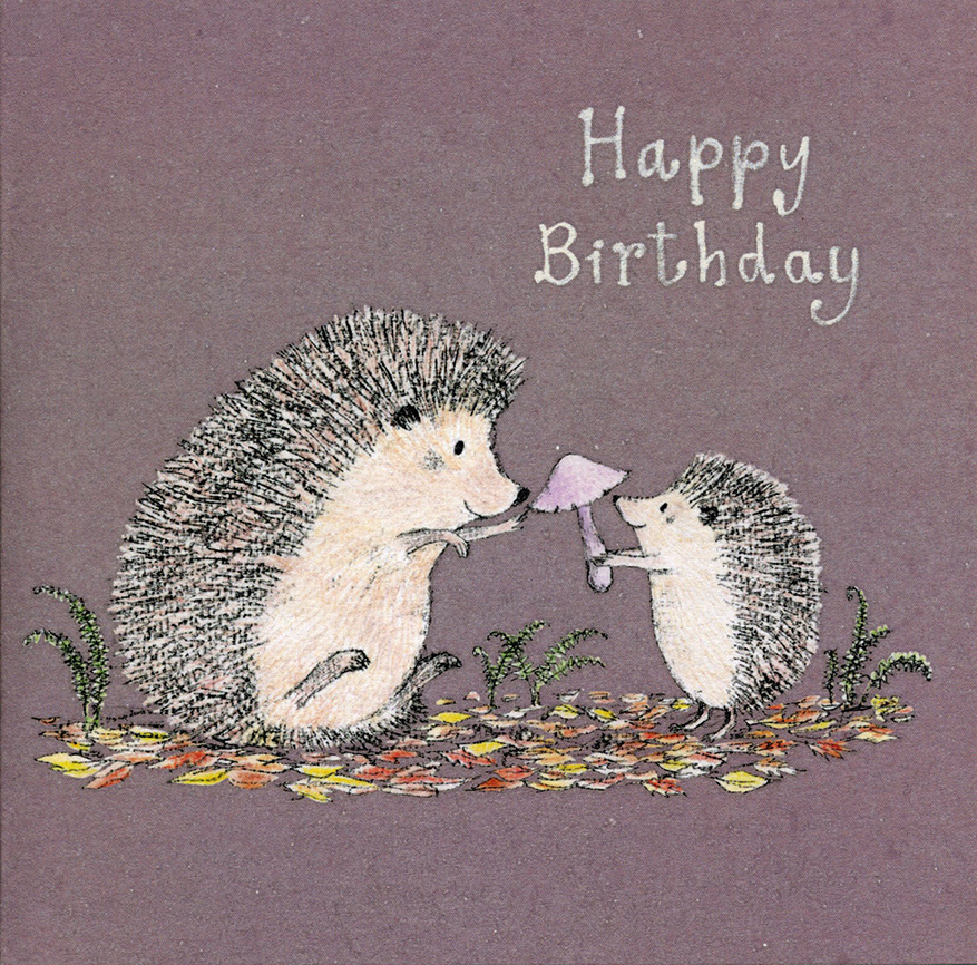 Forest Treasure Birthday Card