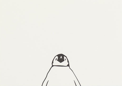 Penguin Letterpress Notecard Pack (6)