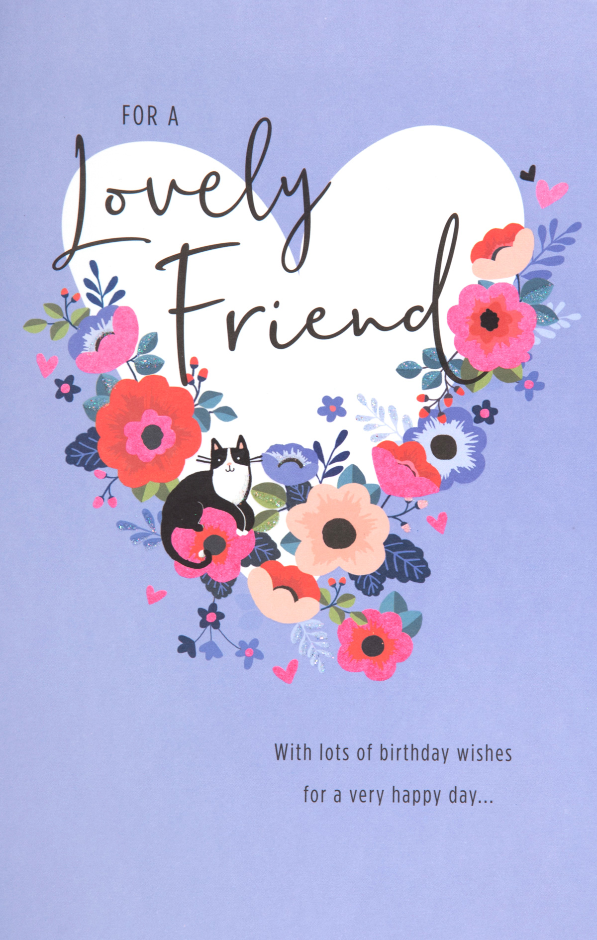 Lovely Friend Birthday Card