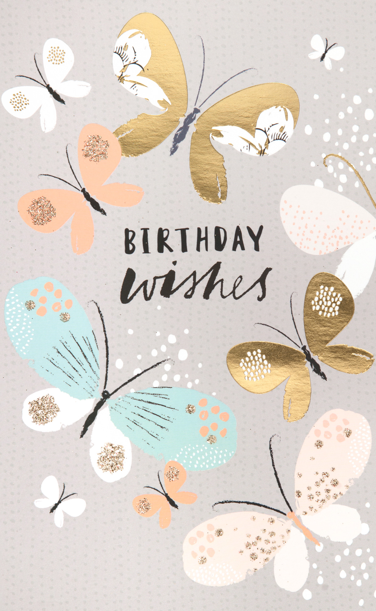 Pretty Butterflies Birthday Card