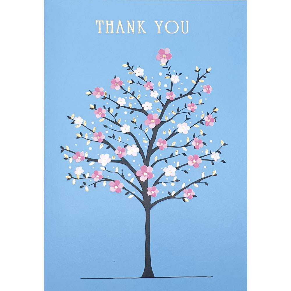 Blossom Tree Thank You Card
