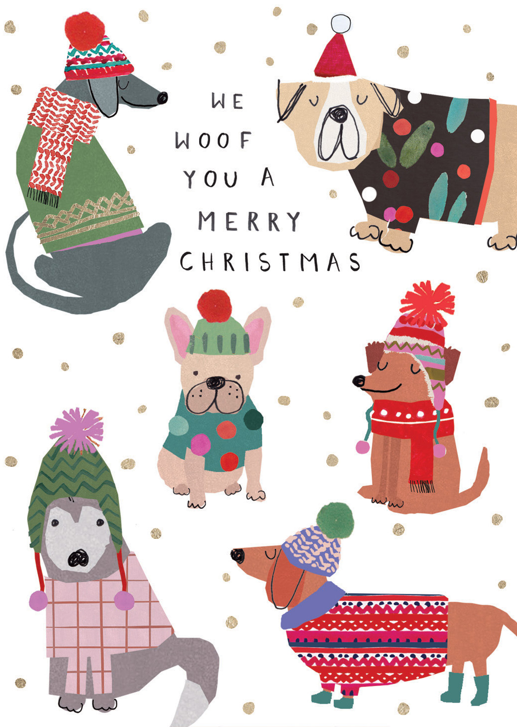 We Woof You Christmas Card
