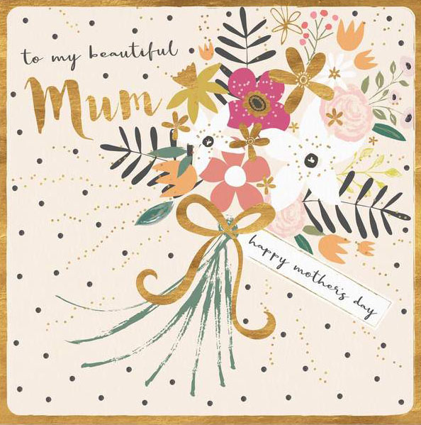 Beautiful Bouquet Mother's Day Card