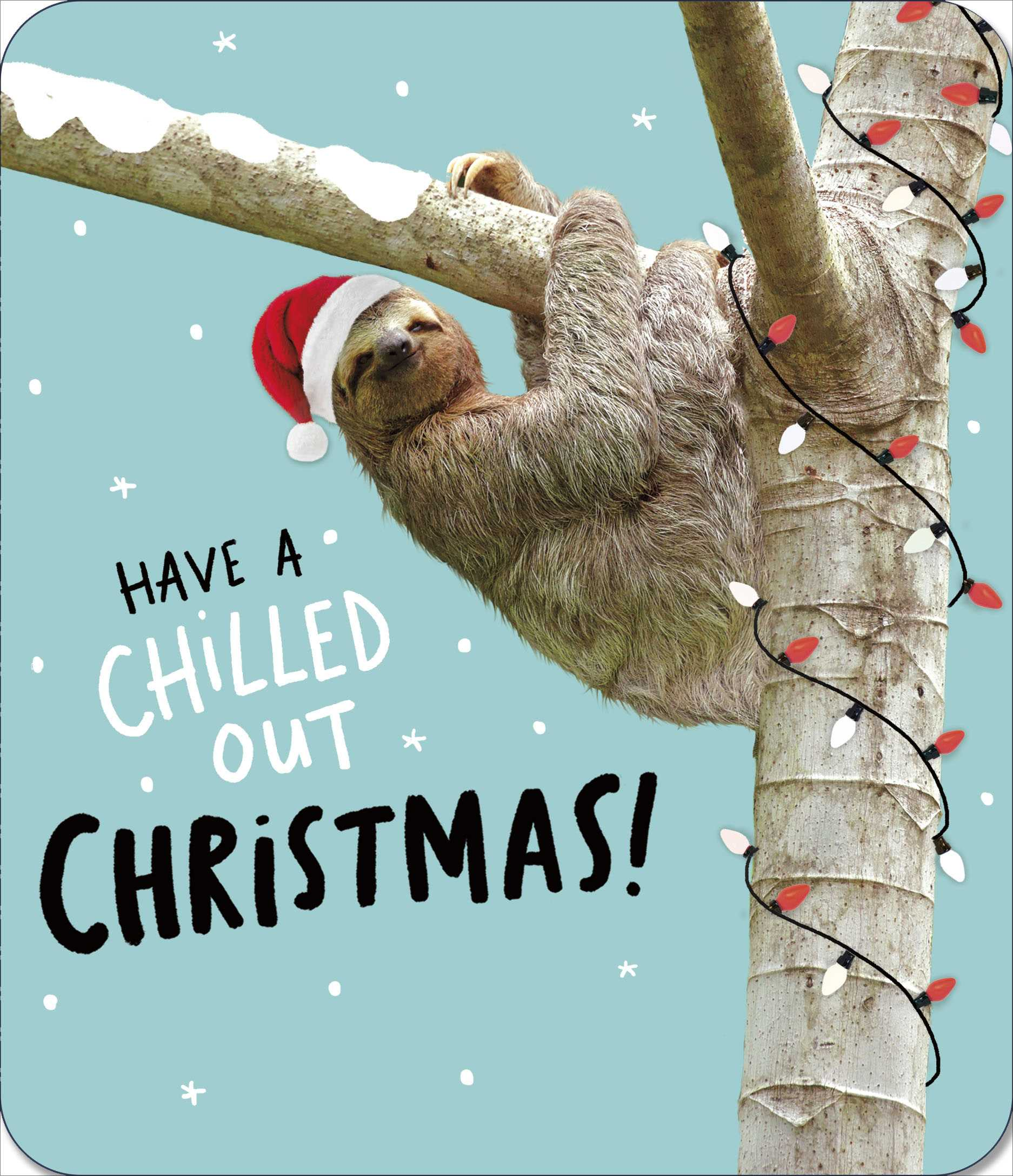 Chilled Out Christmas Card