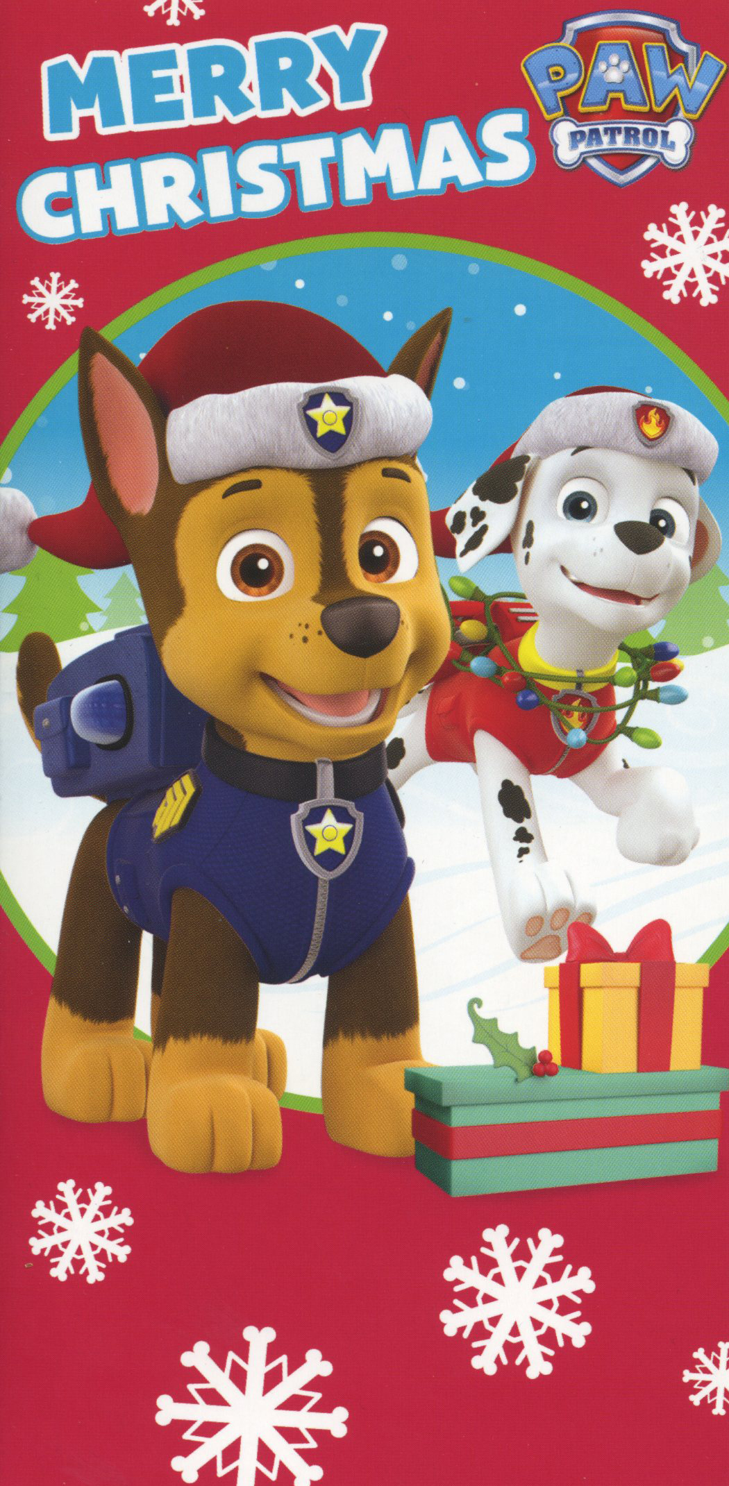 Paw Patrol Christmas Money Wallet