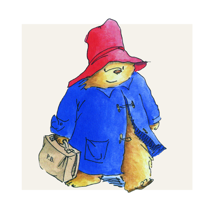 Paddington Bear Greeting Card