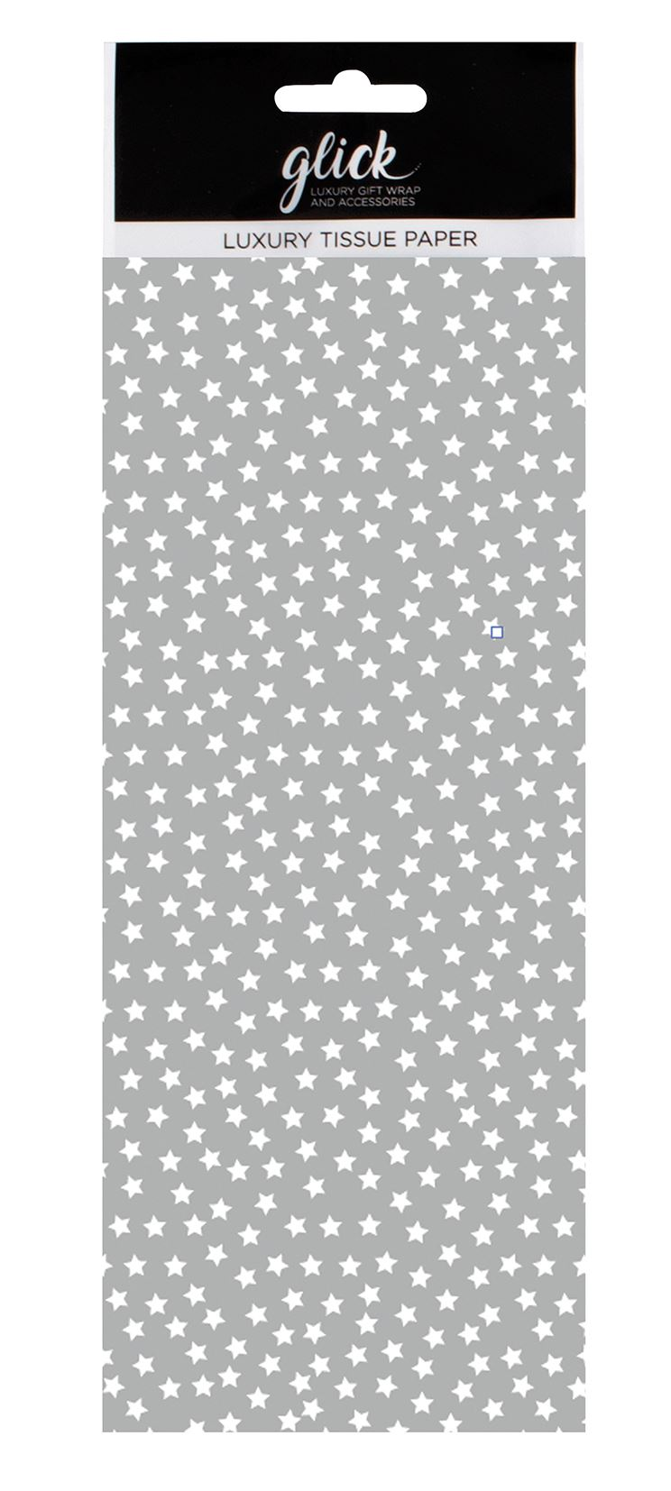Silver Stars Christmas Tissue Paper 4 Sheets