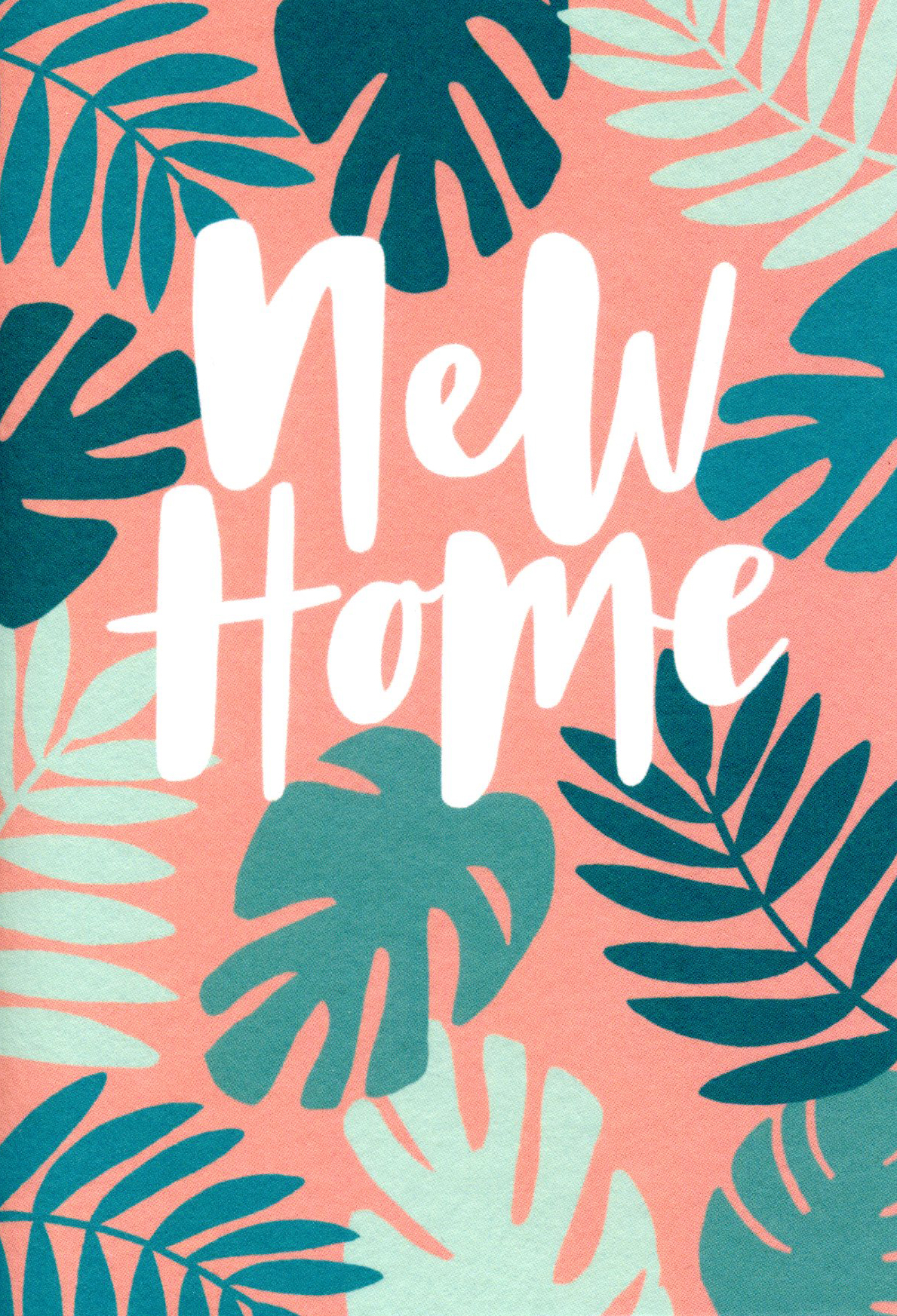 Plant Leaves New Home Card