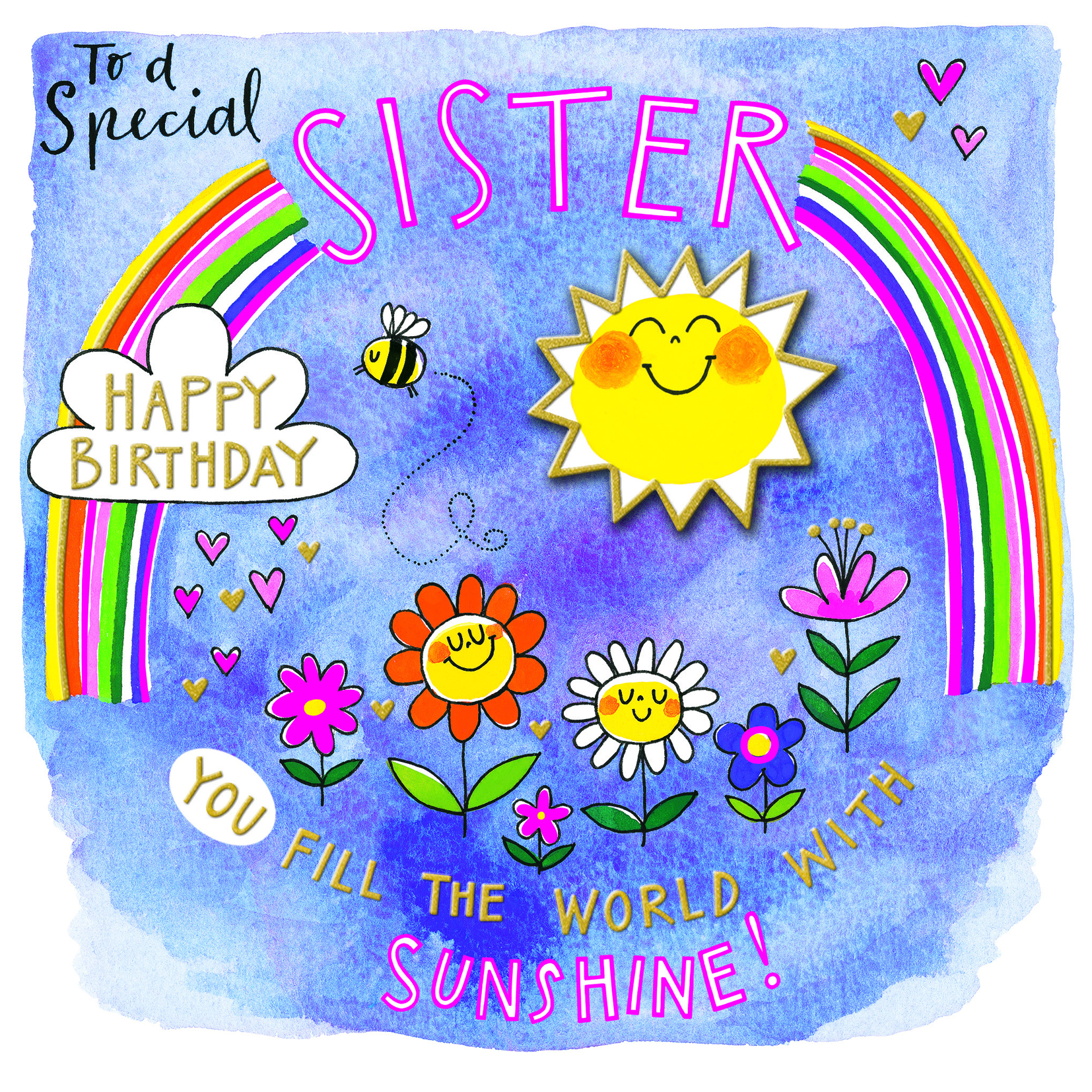 Sunshine Sister Birthday Card