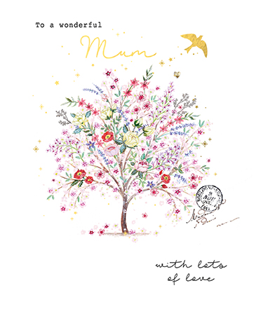 Beautiful Tree Mother's Day Card