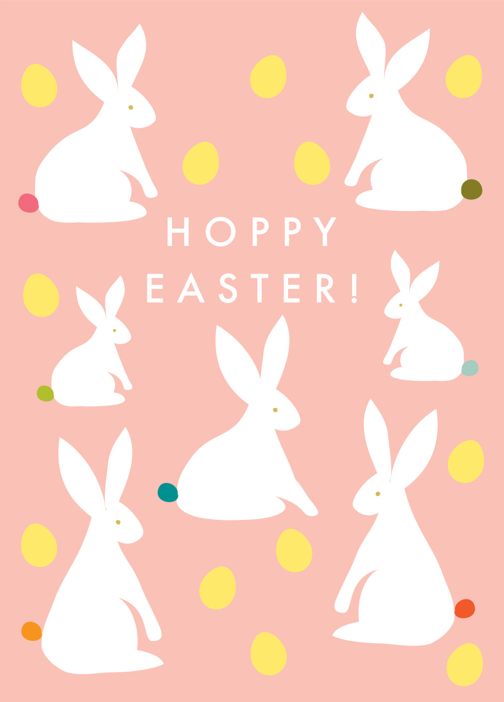 Hoppy Easter Card Pack (5)