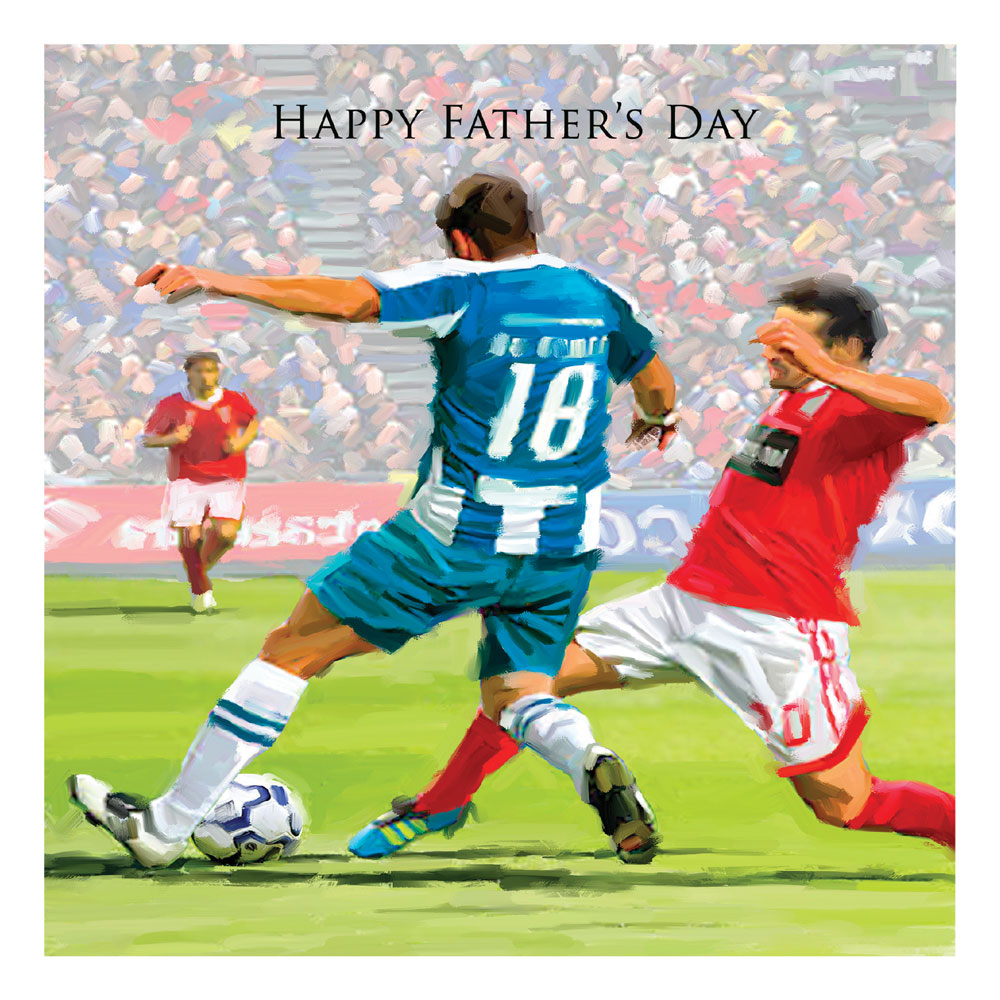 Football Fathers Day Card