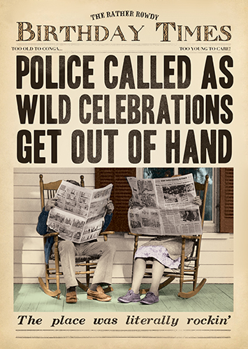 Wild Celebrations Birthday Card