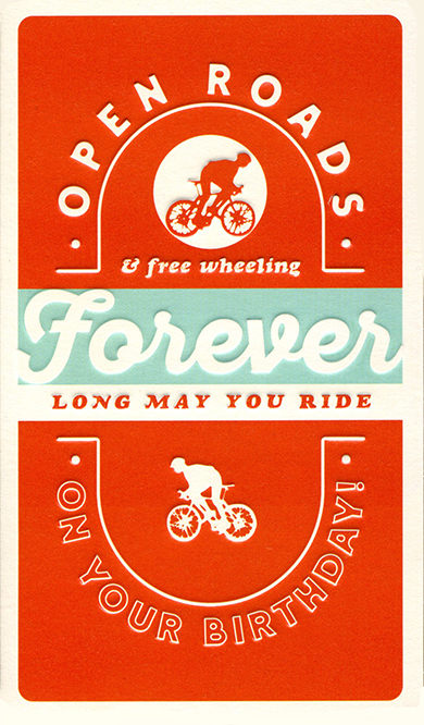 Long May You Ride Birthday Card