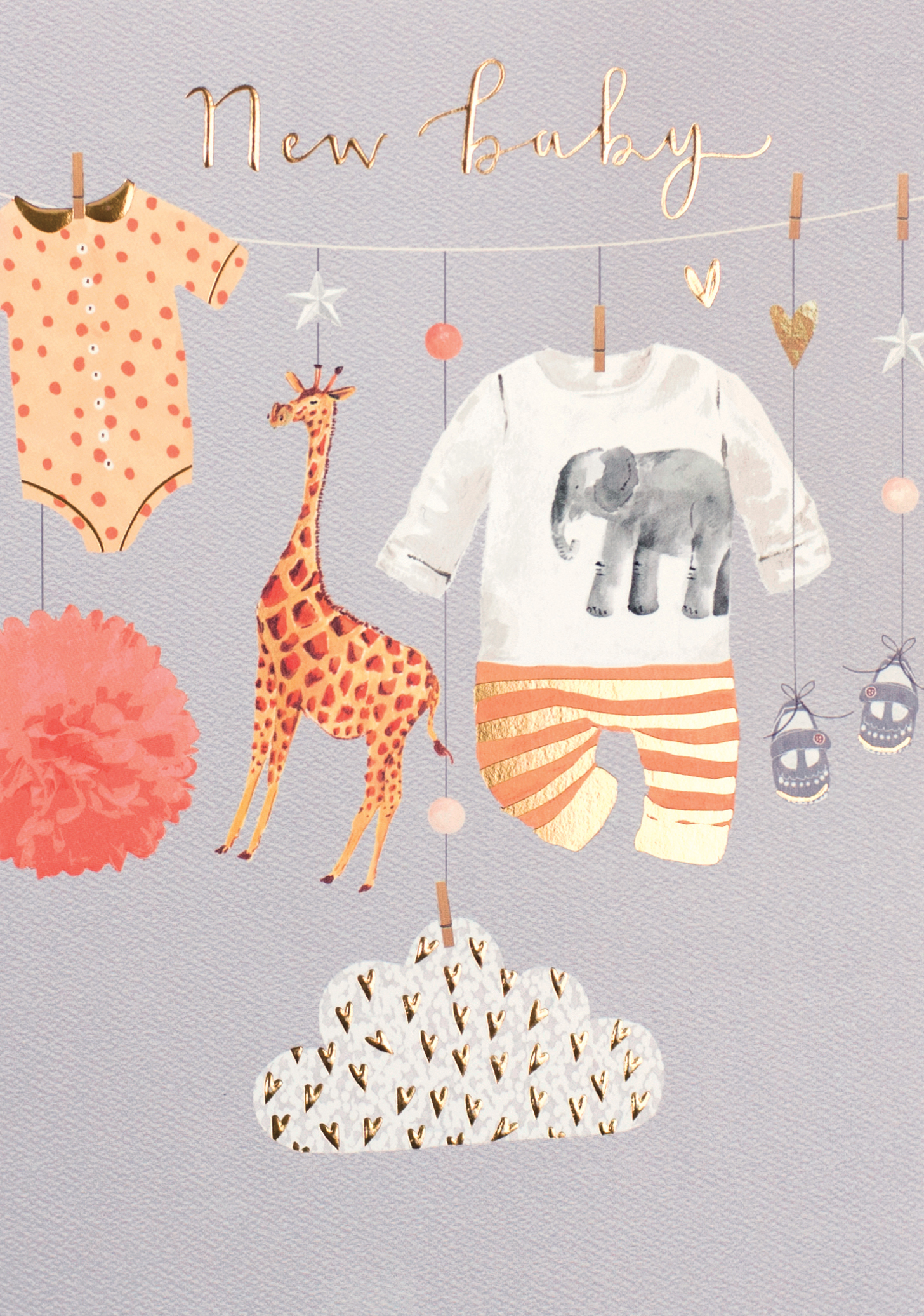 Cosy Cute New Baby Card