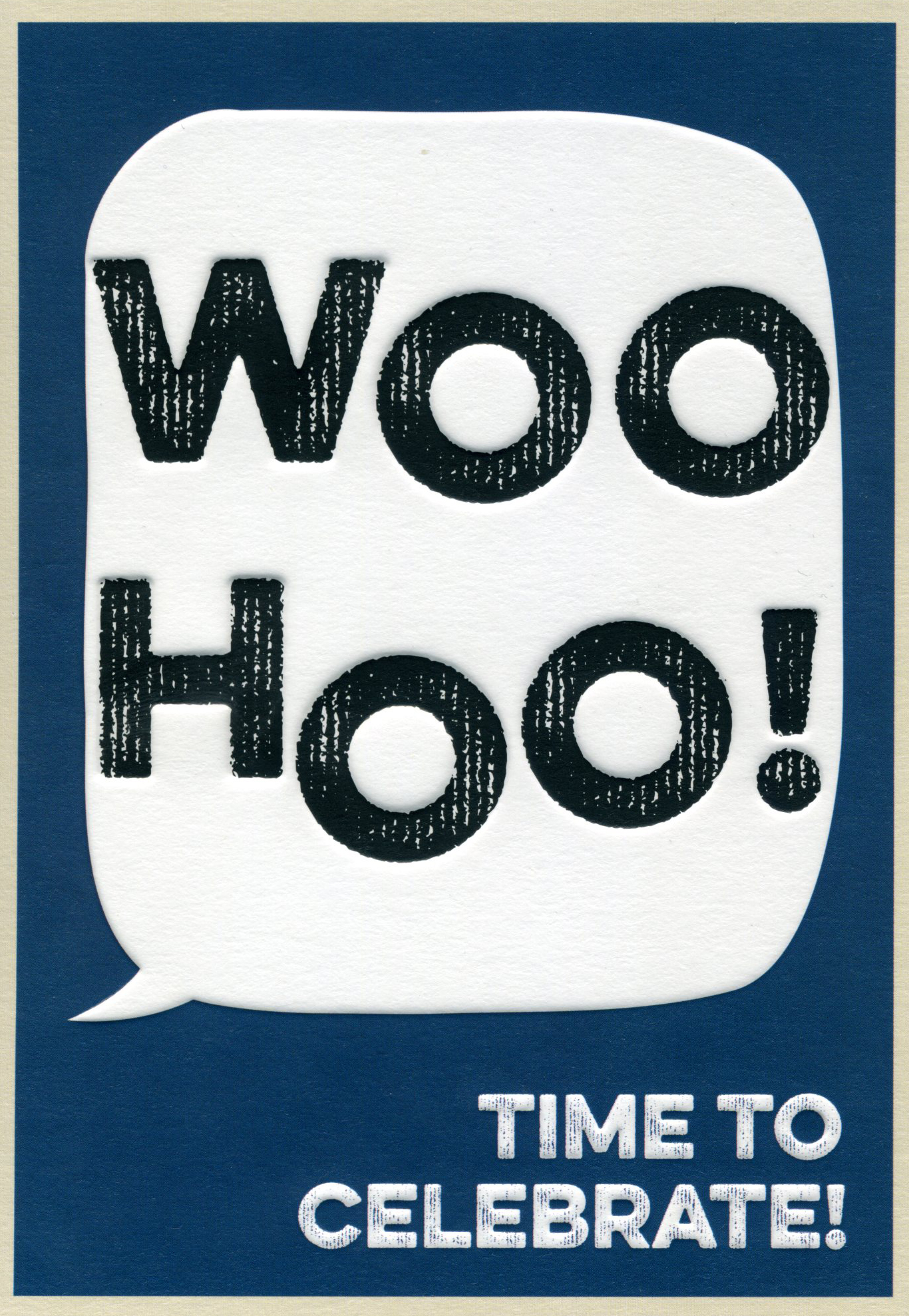 WooHoo! Congratulations Card