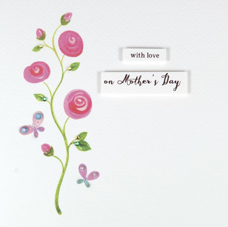 Rose Vine Mother's Day Card