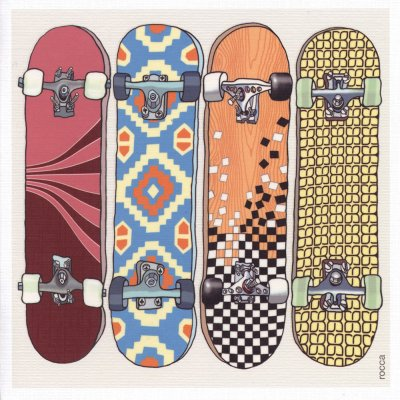 Skateboards Greeting Card