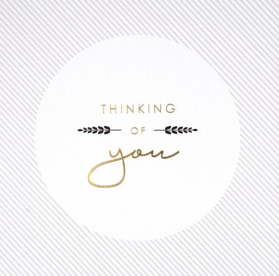 Thoughts Thinking of you Card