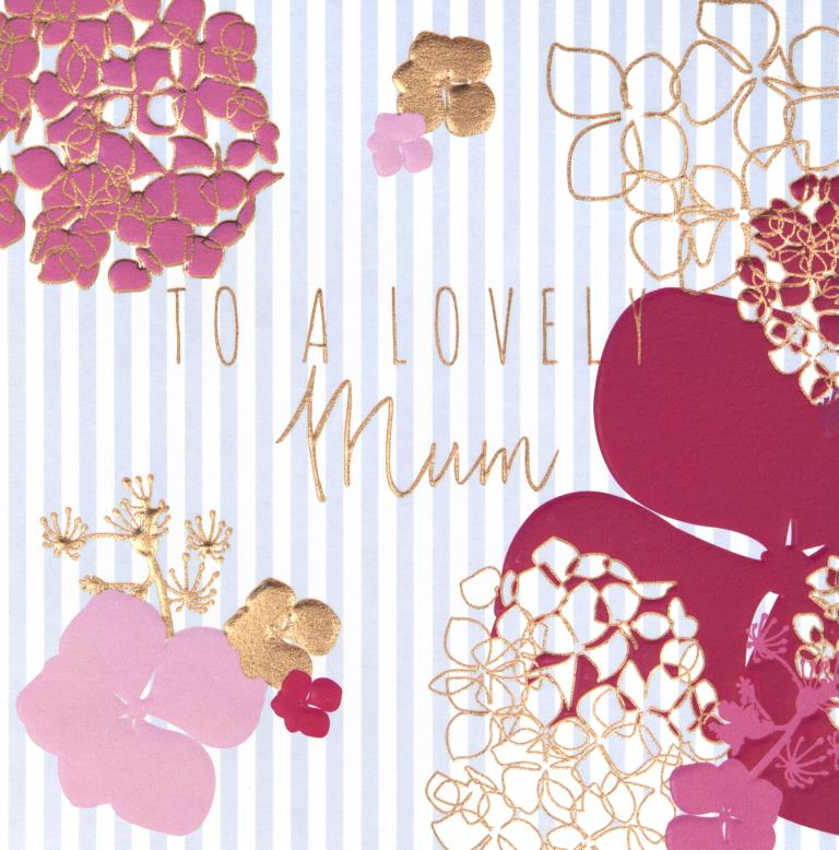 Lovely Mum Mother's Day Card