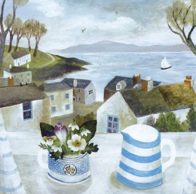 Cornish Jug Greeting Card