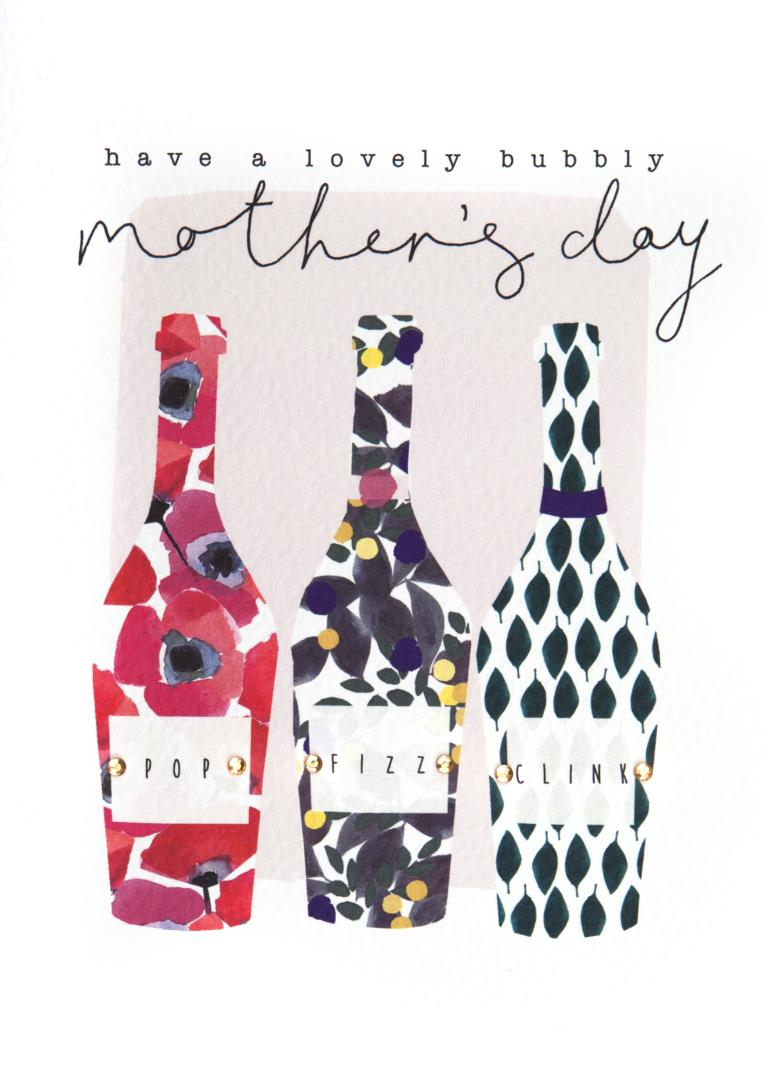 Lovely Bubbly Mother's Day Card