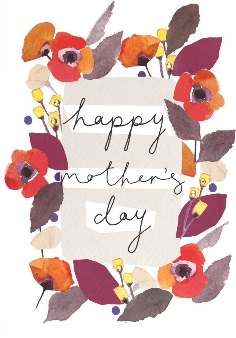 Floral Ring Mother's Day Card