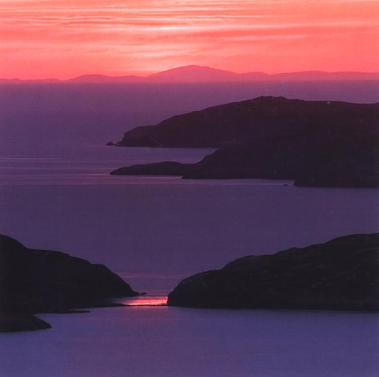 Summer Isles Evening Greeting Card