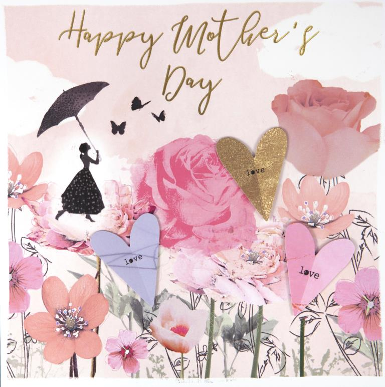 Magical Extra Large Mother's Day Card