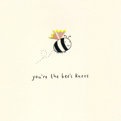 Bee's Knees Greeting Card