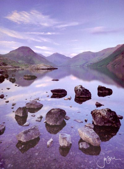 Stone Group Wast Water Greeting Card