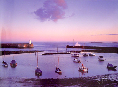 Outer Harbour Greeting Card