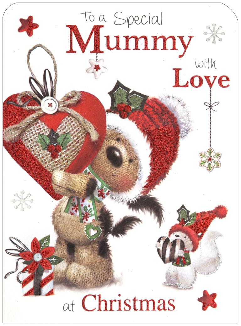 Mummy Christmas Card