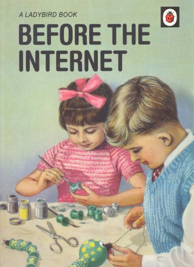 Before the Internet Greeting Card