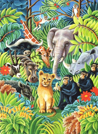 Jungle Party Greeting Card