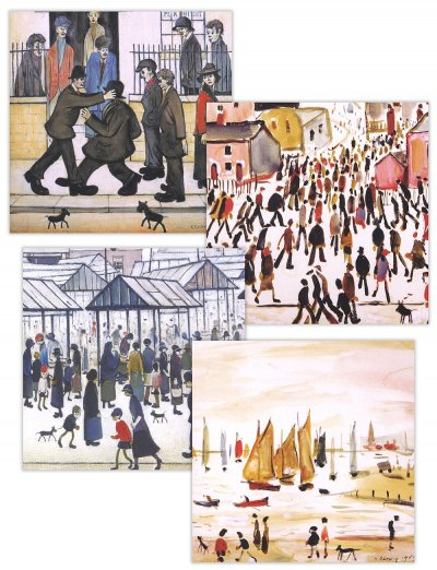 L.S Lowry Notecard Pack (8)