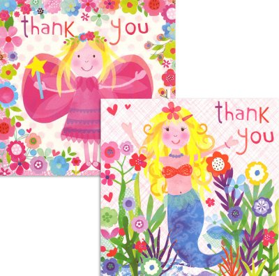 Mermaids and Fairy   Thank you Pack