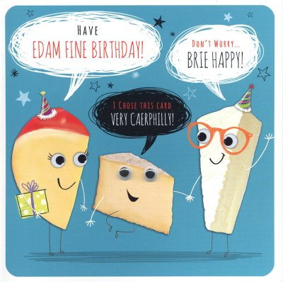 Edam Fine Birthday Card