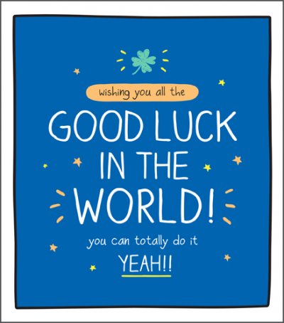 You can do it Good Luck Card