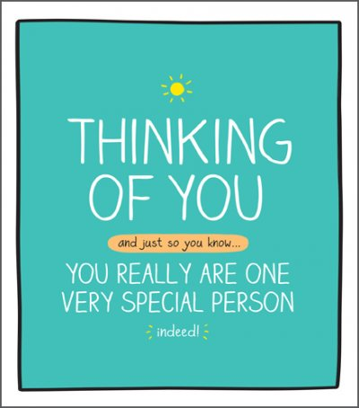 Special Person Thinking of you Card