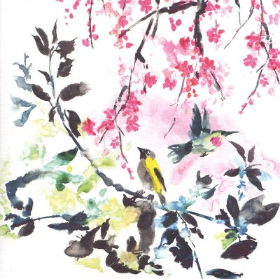 Chinoiserie Greeting Card