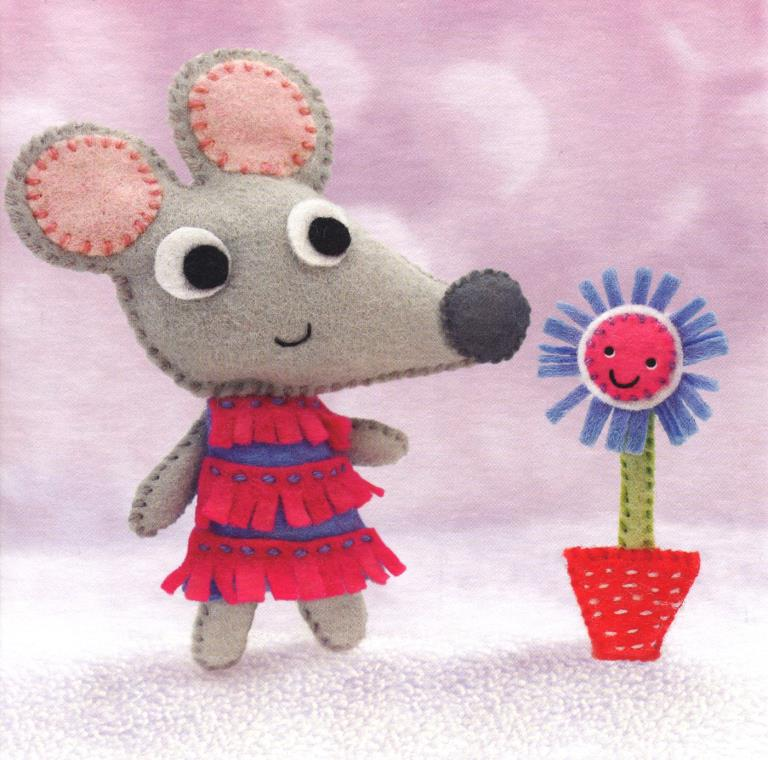 Marj Mouse Greeting Card